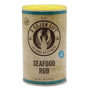 A Cajun Life Rub, Seafood, 8 oz