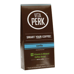 VitaPerk - Vitamin and Mineral Coffee Boost Vanilla - 7 Packets