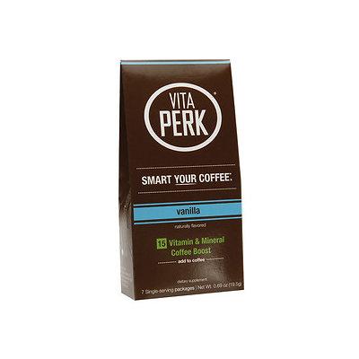 VitaPerk - Vitamin and Mineral Coffee Boost Vanilla - 7 Packets