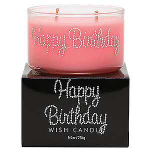 Primal Elements Happy Birthday Wish Candle - 1 Candle