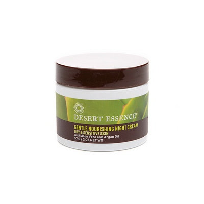 Desert Essence Gentle Nourishing Night Cream, 2 oz