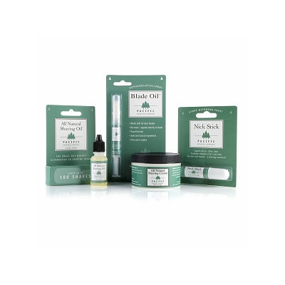 Pacific Shaving Company The Ultimate Natural/Eco-friendly Shaving Gift Set
