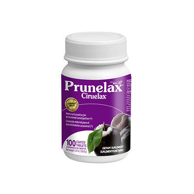 Prunelax Ciruelax Maximum Relief Coated Tablets, 100 ea