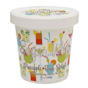 Primal Elements Sugar Whip Moisturizing Body Scrub, Pineapple Rum Splash, 10 oz