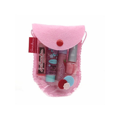 Bonne Bell Lip Smacker Pretty in Pink Lip, Face & Nail Collection