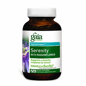 Gaia Herbs, Serenity with Passionflower 60 Vegetarian Liquid Phyto-Caps