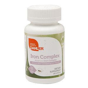 Zahler - Iron Complex - 100 Capsules