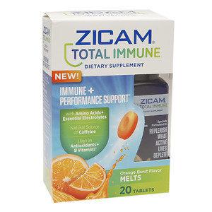 Zicam Total Immune + Performance Support, Melts, Orange Burst, 20 ea