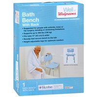 Walgreens Bath Chair with Microban, 1 ea