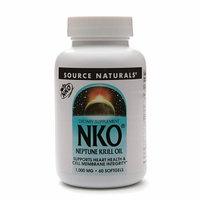 Source Naturals - NKO Neptune Krill Oil 1000 mg. - 60 Softgels