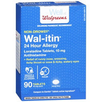 Walgreens Wal-Itin 10mg, Tablets, 90 ea