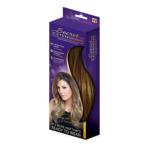 Secret Extensions Thicker, Fuller, Longer Hair, Dark Blonde, 1 ea