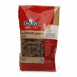 Orgran Stone Ground Buckwheat Spiral Pasta, 8.8 oz