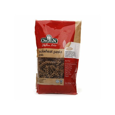 Orgran Stone Ground Buckwheat Spiral Pasta, 8.8 oz
