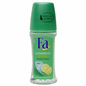 Fa Deodorant Roll-On - Caribbean Lemon 50ml/1.7oz