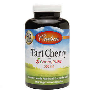 Carlson Labs - Tart Cherry with CherryPURE 500 mg. - 180 Vegetarian Capsules