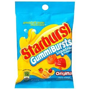 Starburst GummiBursts Liquid Filled Gummy Candy