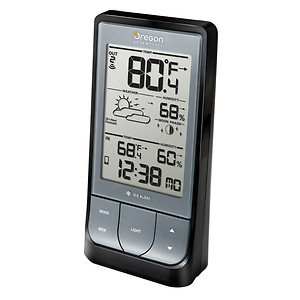 Oregon Scientific WeatherHome Bluetooth-Enabled Weather Station