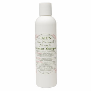 Tate's The Natural Miracle Odorless Shampoo, 8 fl oz