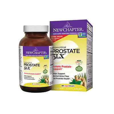 New Chapter Super Critical Prostate 5LX Holistic Prostate Support, 180 ea