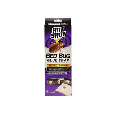 Hot Shot Pest Control Bed Bug Glue Trap (4-Count) HG-96318