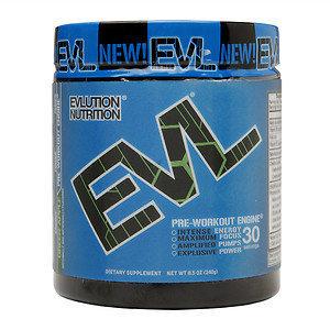 Evl Nutrition Evlution Nutrition(r) EVL(tm) ENGN(r) PRE-WORKOUT+ ENGINE(r) - Green Apple