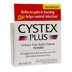 Cystex Urinary Pain Relief Tablets, 40 ea