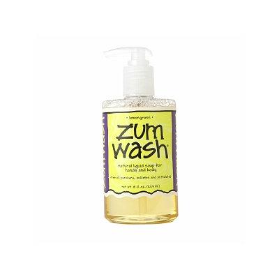 Zum Wash Natural Liquid Soap for Hands & Body, Lemongrass, 8 oz