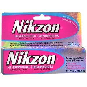 Nikzon Hemorrhoidal Anorectal Cream, .9 oz