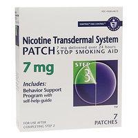 Habitrol Nicotine Transdermal System Stop Smoking Aid Patch, 7 mg, Step 3, 7 ea