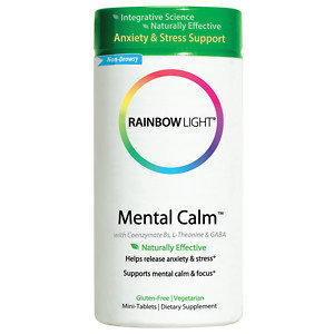 Mental Calm-Anxiety & Stress Support Rainbow Light 60 Tabs