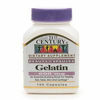 21st Century Gelatin 600mg, Beauty Capsules, 100 capsules