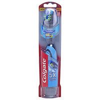 Colgate Total 360 Advanced Floss-Tip Battery Toothbrush, Soft
