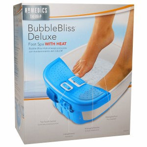 HoMedics Thera-P BubbleBliss Deluxe Foot Spa with Heat, 1 ea