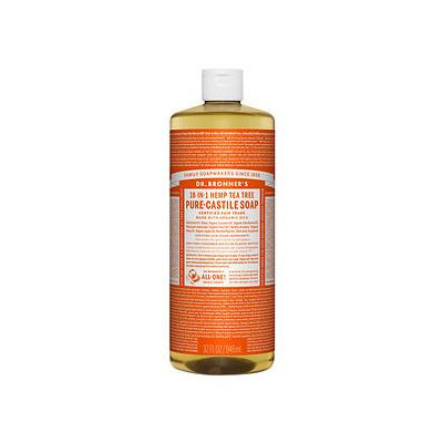 Dr. Bronner Organic Tea Tree Castile Liquid Soap