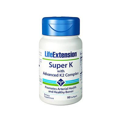 Life Extension Super K with Advanced K2 Complex, Softgels, 90 ea