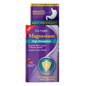 Natrol High Absorption Magnesium Cranberry Apple