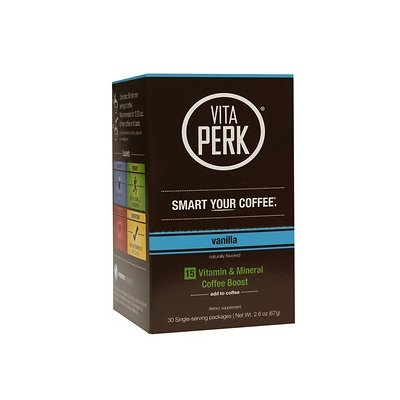 VitaPerk - Vitamin and Mineral Coffee Boost Vanilla - 30 Packets