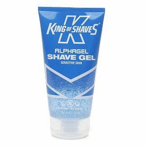 King of Shaves For Men AlphaGel Shave Gel, Sensitive Skin, 5 fl oz