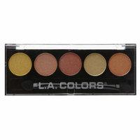 L.A. Colors 5 Color Metallic Eyeshadow, Fiesta, .26 oz