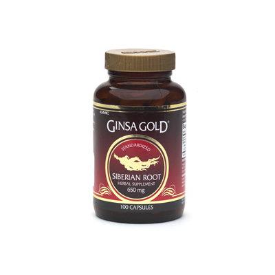 GNC Ginsa Gold Siberian Root Capsules, 100 ea