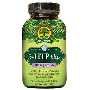 Well Roots 5-HTP plus, 50 ea