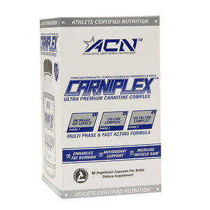 Athlete Certified Nutrition Carniplex - 90 Vegetarian Capsules