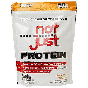 Not Just Protein, Orange Cream, 1 lb