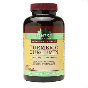 Finest Nutrition Turmeric 1000 mg, 120 ea