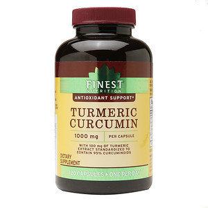 Finest Nutrition Turmeric 1000 mg, 120 ea
