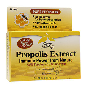 Terry Naturally Propolis Extract, Capsules, 60 ea