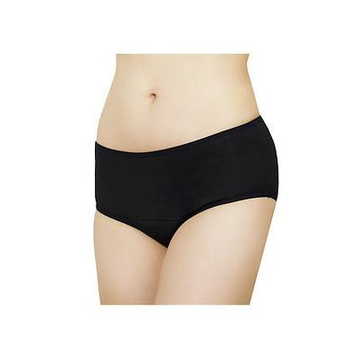Fannypants Ladies Freedom Plus Incontinence Briefs, Black, Medium, 1 ea