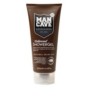 ManCave Shower Gel, Cedarwood, 6.76 oz