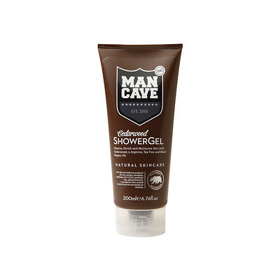 ManCave Shower Gel, Cedarwood, 6.76 oz